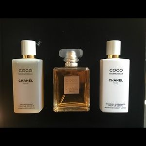 Coco Chanel Mademoiselle gift set-brand new in box